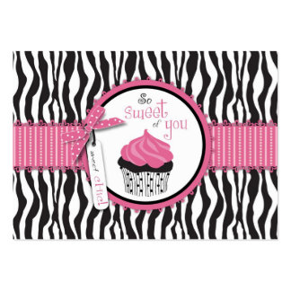 Boutique Chic TY Cupcakes Gift Card Large Business Card