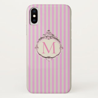 Boutique Stripes (Apply design to other brands) - iPhone X Case