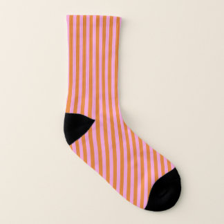 Boutique Stripes Pinnk - Socks (Small or Large)