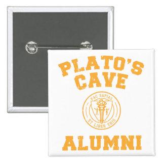Bouton d anciennes élèves de la caverne de Platon Pin's