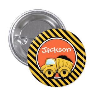 Bouton de construction personnalisé par bouton de macaron rond 2,50 cm