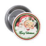 Bouton de Joyeux Noël Badge Avec Épingle