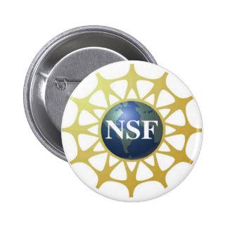 Bouton de logo de NSF Macaron Rond 5 Cm