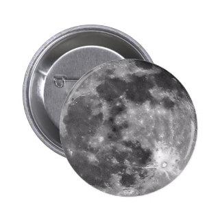 Bouton de lune macaron rond 5 cm