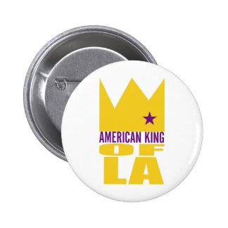 Bouton de MIMS - roi américain de L.A. Badges Avec Agrafe