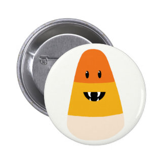 Bouton de monstre de bonbons au maïs badges avec agrafe