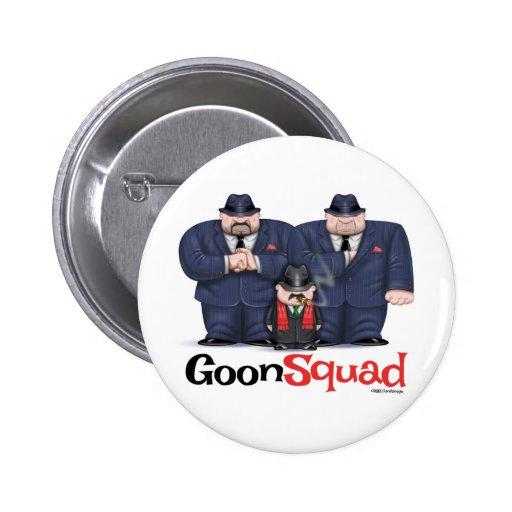Bouton de peloton de crétin de Mafia Badge Avec Épingle