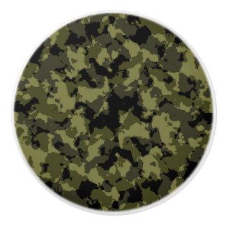 Bouton De Porte En Céramique Les militaires de camouflage dénomment