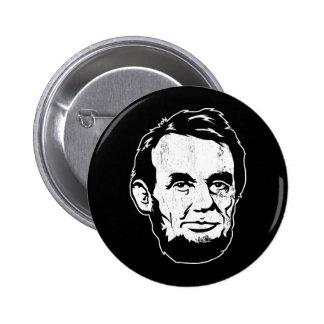 Bouton de portrait d Abraham Lincoln Badges Avec Agrafe