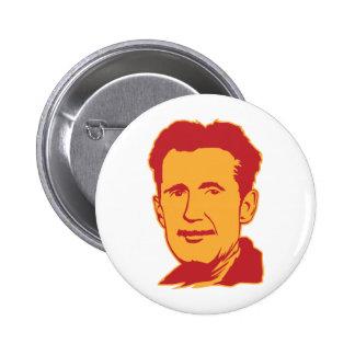 Bouton de portrait de George Orwell Badges