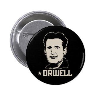 Bouton de portrait de George Orwell Badge Avec Épingle
