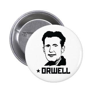 Bouton de portrait de George Orwell Pin's