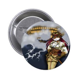 Bouton de Stormchaser Macaron Rond 5 Cm