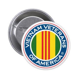 Bouton de vétérans du Vietnam Macaron Rond 5 Cm