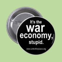 Bouton d'économie de guerre boutons publicitaires