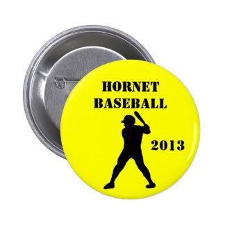 Bouton d'équipe de baseball badge