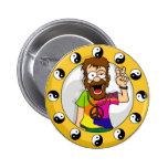 Bouton hippie badge