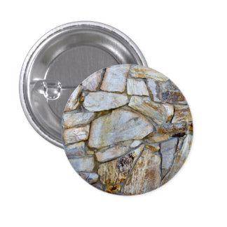 Bouton ON de photo de texture de mur de roche Macaron Rond 2,50 Cm