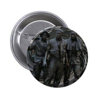 Bouton rond de mémorial de guerre de Vietnam Macaron Rond 5 Cm