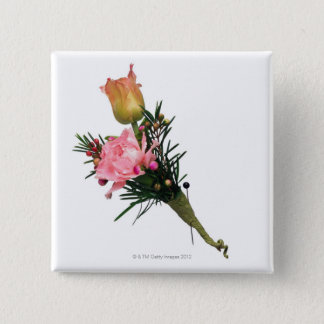 Boutonniere 2 Inch Square Button