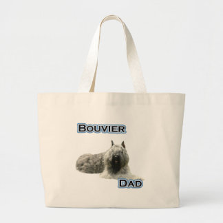 Bouvier Dad 4 Jumbo Tote Bag