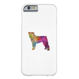 Bouvier DES Flanders in watercolor Barely There iPhone 6 Case
