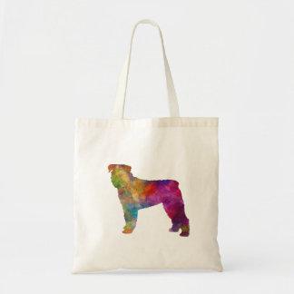 Bouvier DES Flanders in watercolor Tote Bag