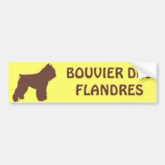 Bouvier des Flandres Car Bumper Sticker