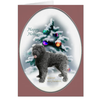 Bouvier des Flandres Christmas Gifts Card