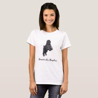 Bouvier des Flandres Dog Art T-Shirt