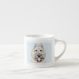 Bouvier des Flandres Painting - Original Dog Art Espresso Cup