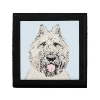 Bouvier des Flandres Painting - Original Dog Art Gift Box