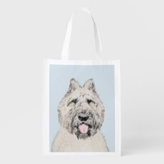 Bouvier des Flandres Reusable Grocery Bag