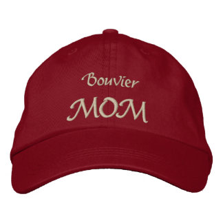 Bouvier Mom Gifts Embroidered Hat