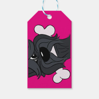 Bouvier of the Flandres with bones Pack Of Gift Tags