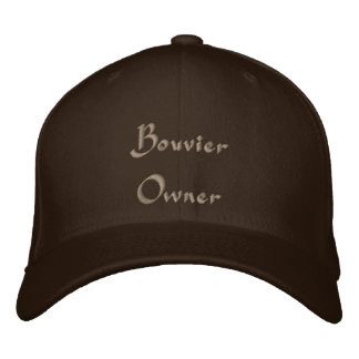 Bouvier Owner Embroidered Hat