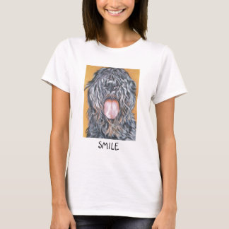 bouvier t-shirt   SMILE