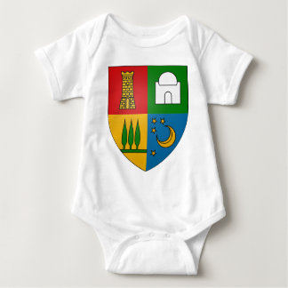 Bouzaréah_Coat_of_Arms_(Frech_Algeria) Baby Bodysuit