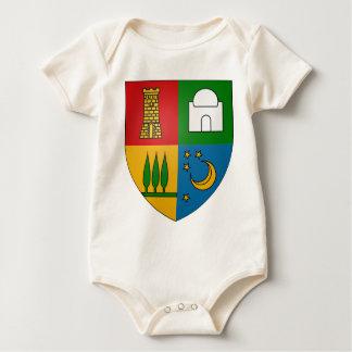 Bouzaréah_Coat_of_Arms_(Frech_Algeria) Baby Bodysuit