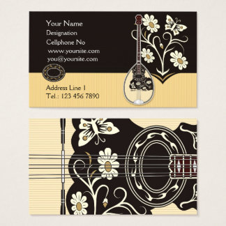 Bouzouki Business Cards