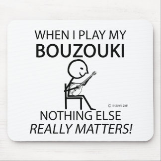 Bouzouki Nothing Else Matters Mouse Pad