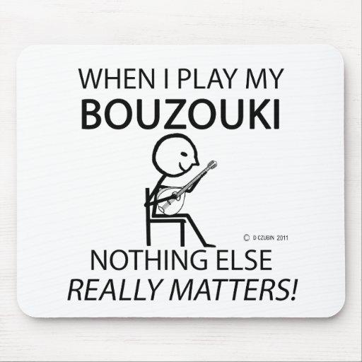 Bouzouki Nothing Else Matters Mousepads