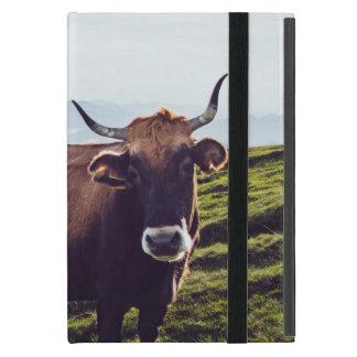 Bovine Cow on Beautiful Landscape Cases For iPad Mini