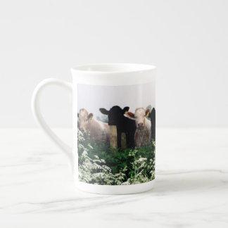 Bovines, Cows in Wiltshire England Tea Cup