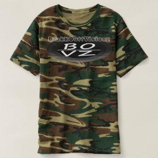 BOVZ BOPDZ BlkWht Camo T-shirt