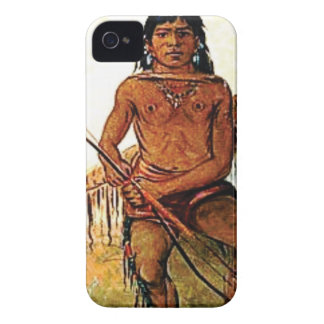 bow armed warrior iPhone 4 case
