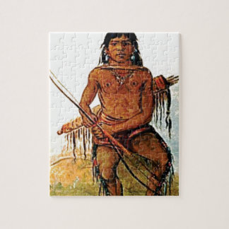 bow armed warrior jigsaw puzzle