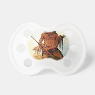 bow armed warrior pacifier