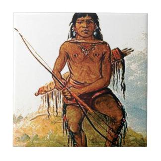 bow armed warrior tile