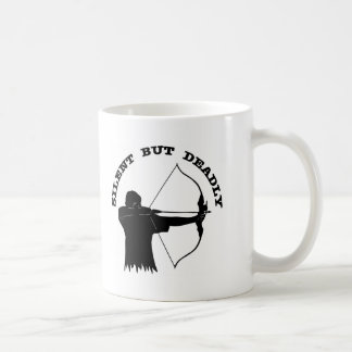 Bow Hunting Archery Silent But Deadly Coffee Mug